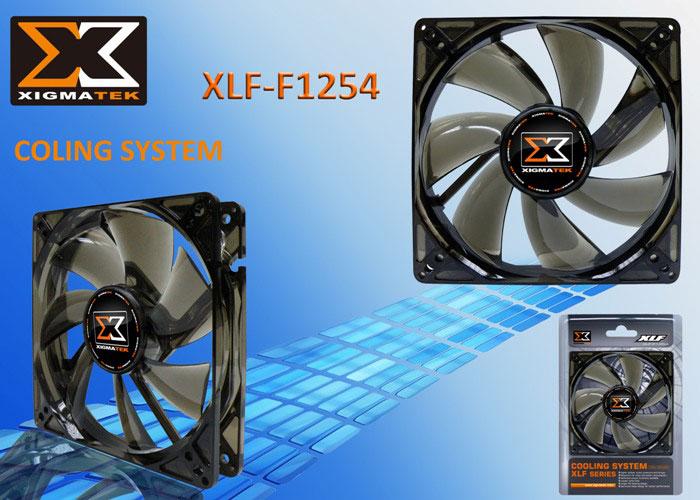 Xigmatek XLF-F1254 120*120*25mm Kasa Fanı
