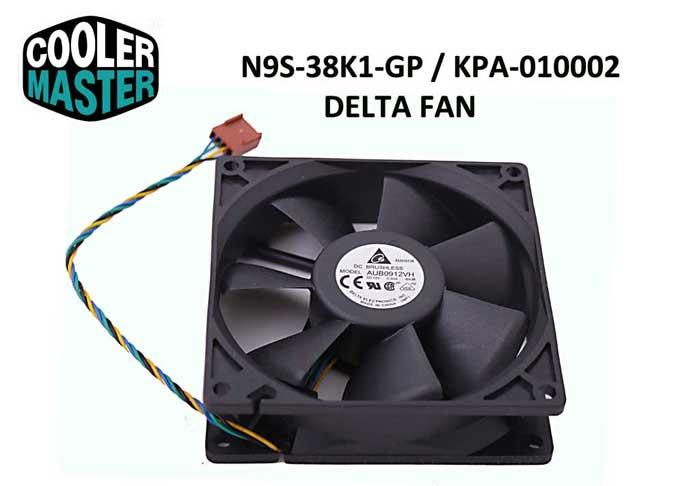 Cooler Master N9S-38K1-GP Delta Kasa Fanı