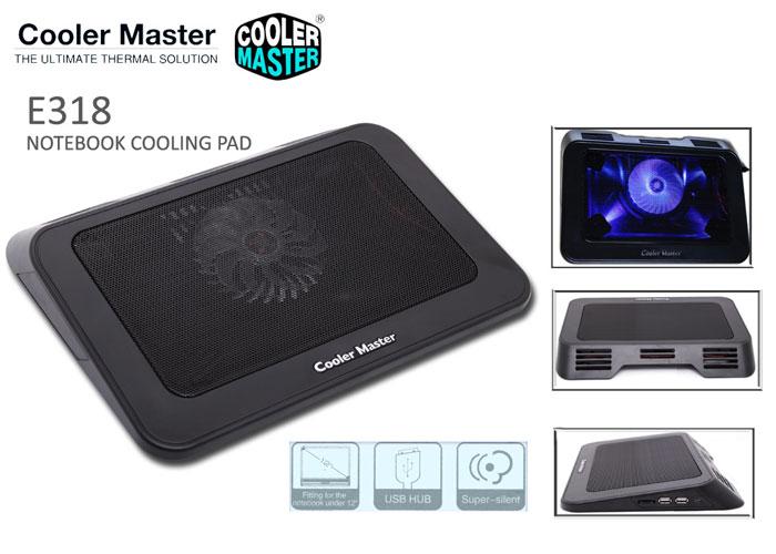 Cooler Master E318 Notebook Soğutucu Stand