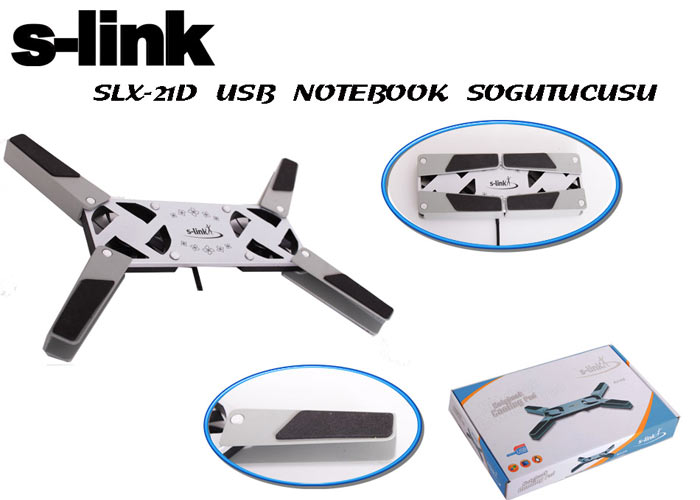 S-link SLX-21D Notebook Soğutucu Stand