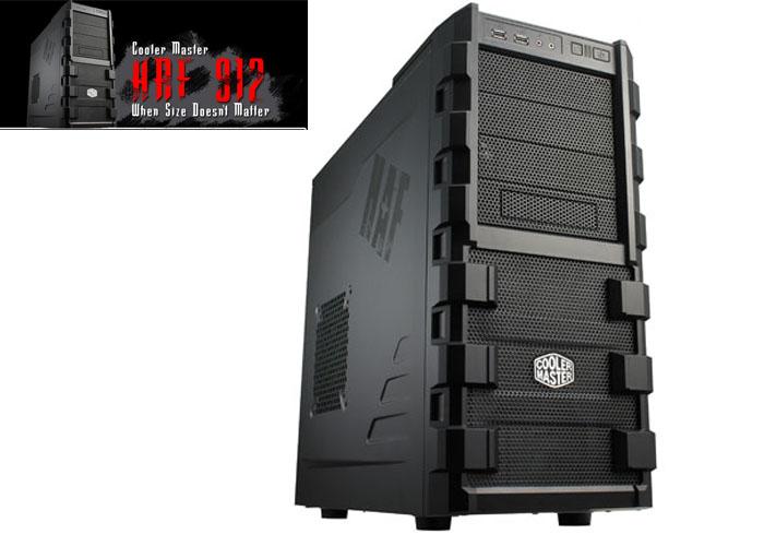 Cooler Master Haf SE-912P KKA W/GX750W Siyah Plus Kasa