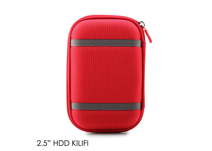 Addison HDD-130 Kırmızı 2.5 Hdd Kılıfı