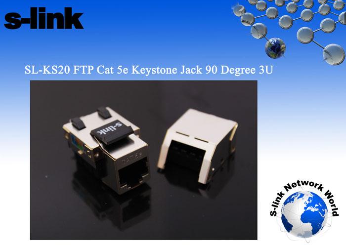 S-link SL-KS20 FTP CAT5E Kestone Jack3U 90 De