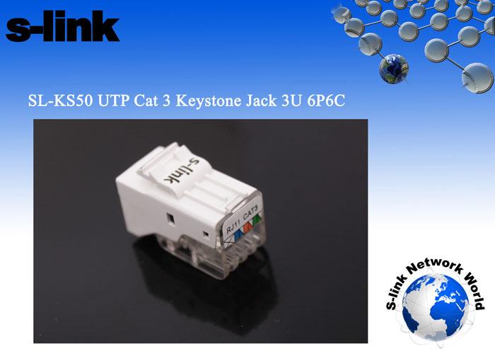S-link SL-KS50 UTP Telefon 6P6C3U Kestone Jac
