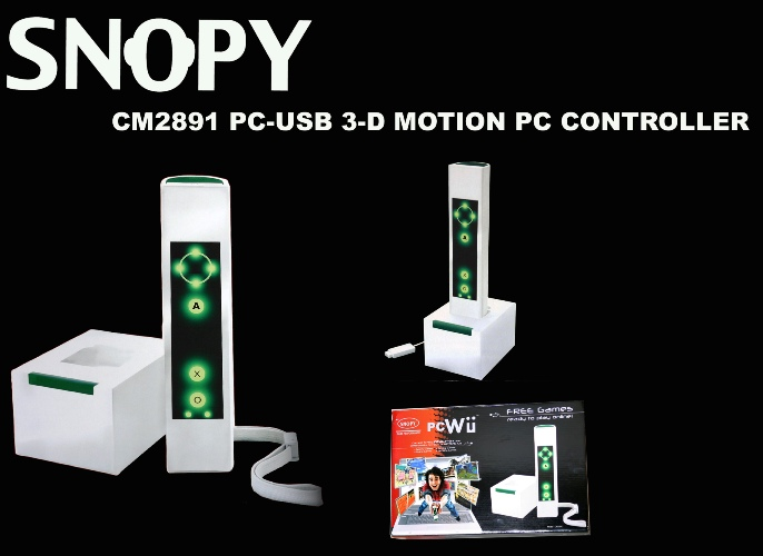 Snopy CM2891 USB 3D Motion Pc Controller Joypad