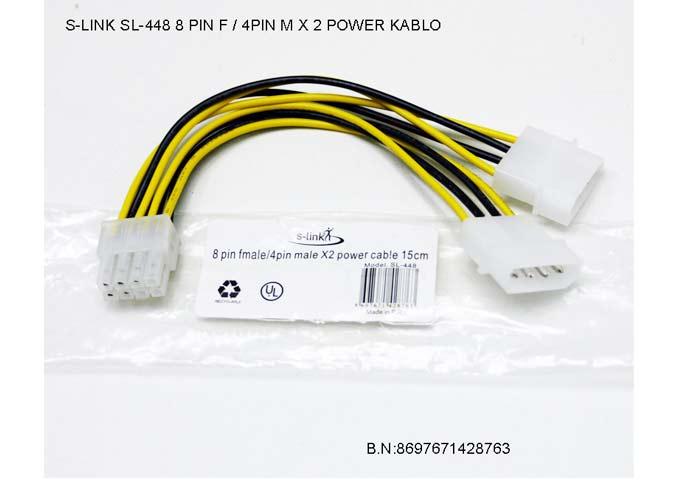 S-link SL-448 15cm 4PF/8PM Power Çevirici