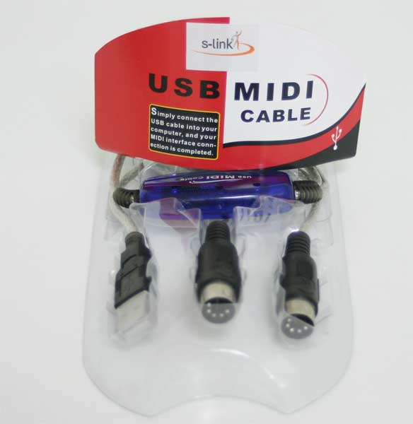 S-link SL-MD55 Usb2.0 Midi Kablo