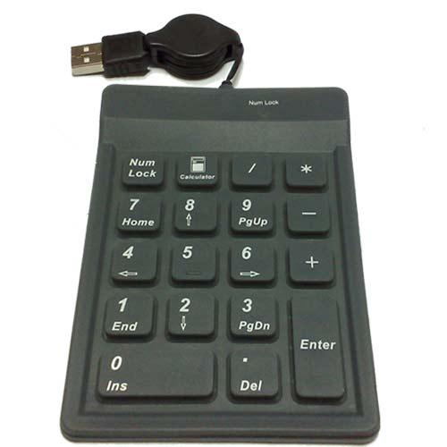 Everest SK-1085 USB Numerik Katlanabilir Standart Klavye