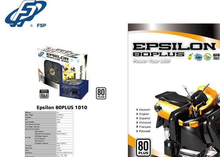 Fsp EVEREST 1010 1010W Aktif PFC 12cm Fan Power Supply