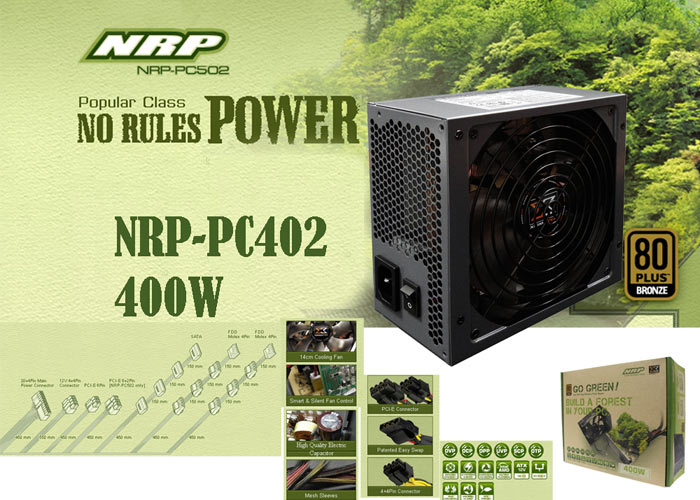 Xigmatek NRP-PC402 400W 150L*160W*86H Power Supply