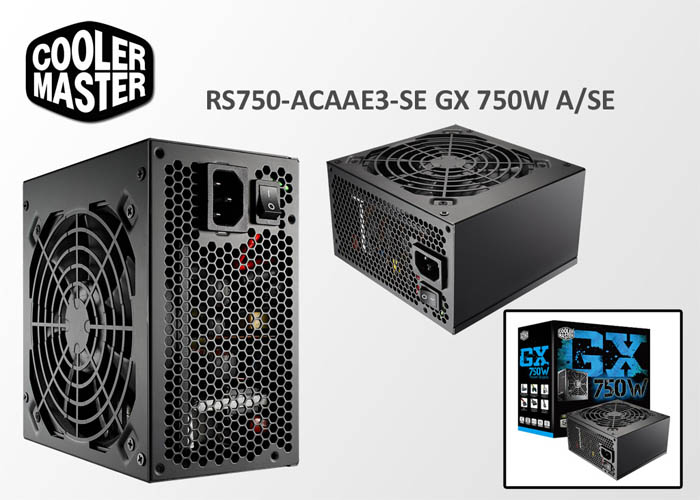 Cooler Master RS-750-ACAAE3-SE GX 750W A/SE Power Supply