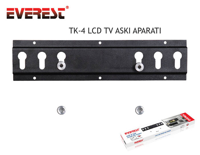 Everest TK-4 Lcd-Led Sabit Askı Aparatı