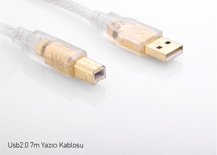 S-link SLX-330 Usb2.0 7m Yazıcı Kablosu