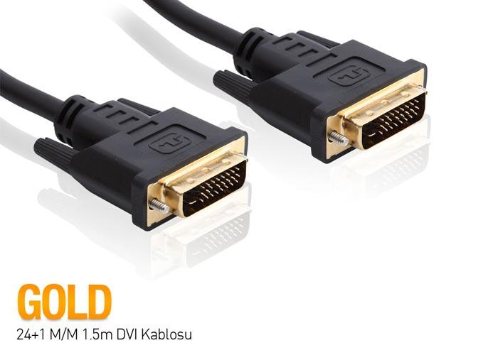 S-link SLX-515 24+1 M/M 1.5m DVI Kablosu