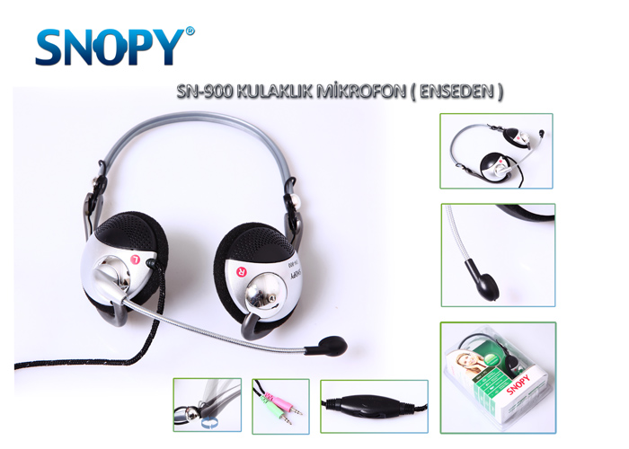 Snopy SN-900 Headset with Microphone