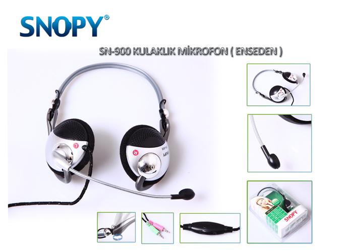 Snopy SN-900 Mikrofonlu Kulaklık