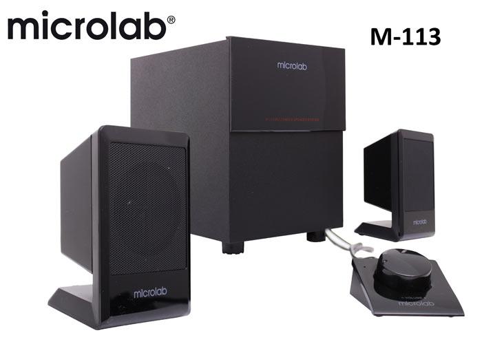 Microlab M-113 2+1 Multimedia Speaker