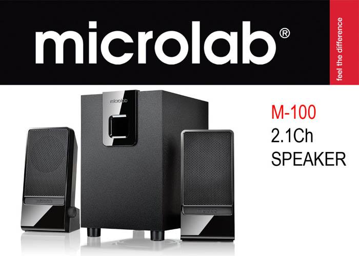 Microlab M-100 2+1 10W RMS Speaker