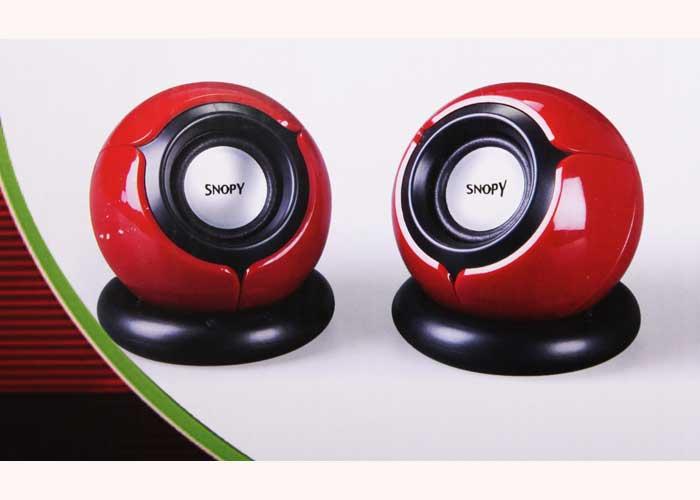 Snopy SN-116 2.0 Kırmızı Notebook USB Speaker