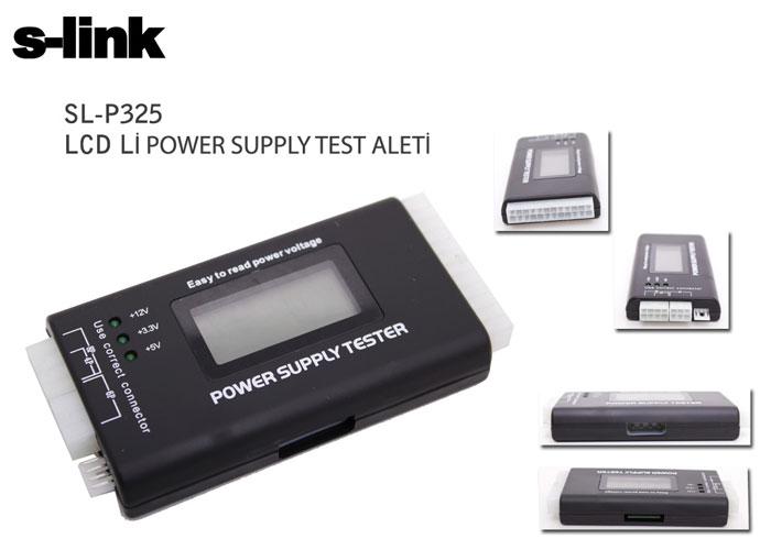 S-link SL-P325 Power Sopply LCDli Test Aleti