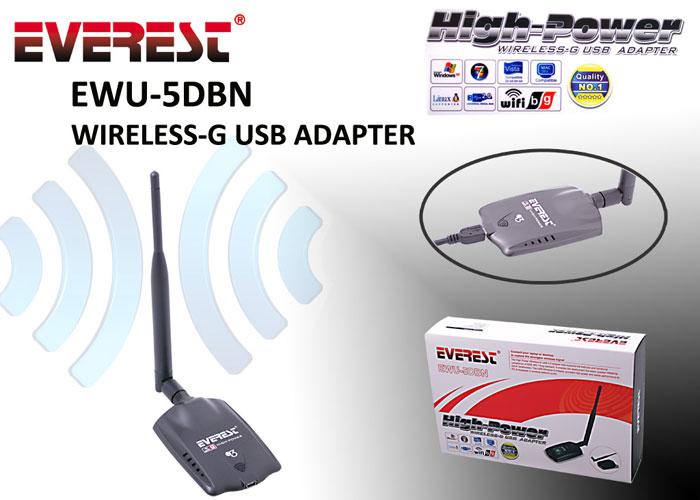 Everest EWU-5DBN Usb Kablosuz Adaptör